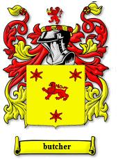 Butcher coat of arms