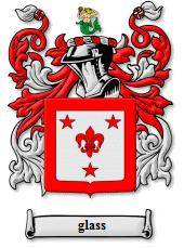 Glass coat of arms