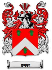 Guppy coat of arms