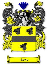 Howe coat of arms