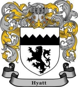 Hyatt coat of arms
