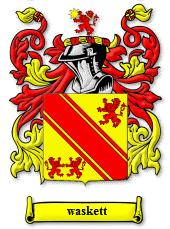 Waskett coat of arms